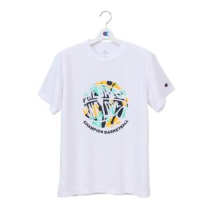 チャンピオン Champion ウイメンズ プラクティスTシャツ NEW レディースバスケシャツ CW-PB326-010 (ホワイト)|om-sports
