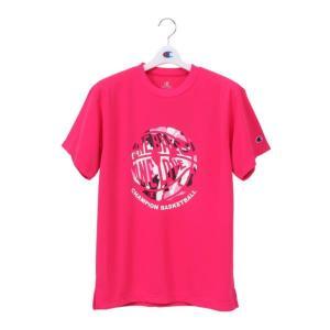 チャンピオン Champion ウイメンズ プラクティスTシャツ NEW レディースバスケシャツ CW-PB326-933 (ローズ)|om-sports