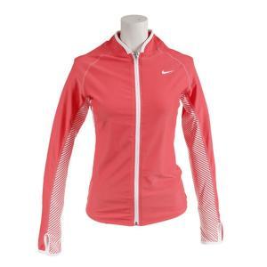 ナイキ Nike レディース UV F/Zラッシュガード レディース ラッシュガード 2983722-05(ラッシュコーラル)|om-sports