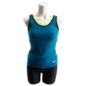 ナイキ Nike スクープネックセパレーツ 3点セット(レディース) レディース水着 2983731-10(ピーコックブルー)|om-sports