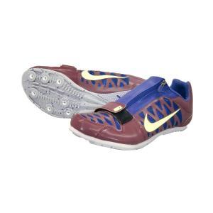 ナイキ Nike ナイキ ズーム LJ4 19SS 陸上競技スパイク 415339-602 (ボルドー/ライムプラスト)|om-sports