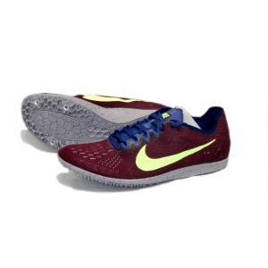 ナイキ Nike ナイキ ズームマトゥンボ3 陸上スパイク 835995-600 (ボルドー/ライムブラスト)|om-sports