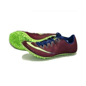 ナイキ Nike ナイキ ズーム スーパー フライエリート 陸上スパイク 835996-600 (ボルドー/ライムブラスト)|om-sports