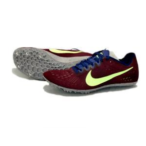 ナイキ Nike ナイキ ズームビクトリー3 陸上スパイク 835997-600 (ボルドー/ライムブラスト) om-sports