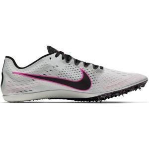 ナイキ Nike ナイキ ズーム ビクトリー エリート 2(ユニセックス) 陸上スパイク 835998-002(PURE PLATINUM/BLACK-PINK BLAST) om-sports
