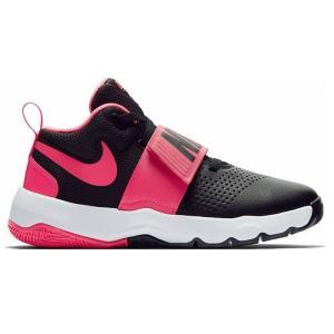 ナイキ Nike ジュニア、キッズ ナイキ チームハッスルD 8 GS 18SP バスケットボールシューズ 881941-002 (ブラック/レーサーピンク/ホワイト)|om-sports