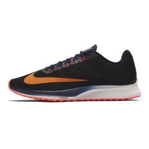 ナイキ Nike ナイキ エアズーム エリート10 メンズランニングシューズ 924504-084 (ブラック/ブラッケンドブルー/フラッシュクリムゾン/オレンジビール)|om-sports