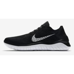 ナイキ Nike フリーラン フライニット 18SU メンズランニングシューズ 942838-001 (ブラック/ホワイト)|om-sports