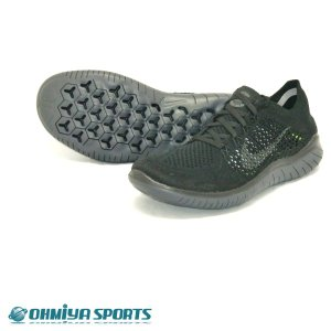 ナイキ Nike フリーラン フライニット 2018 FA18 メンズ ランニングシューズ 942838-002 (ブラック)|om-sports