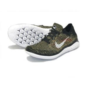 ナイキ Nike フリーラン ウhライニット2018 NEW メンズランニングシューズ 942838-005 (ブラック/ホワイト/クラブゴールド)|om-sports