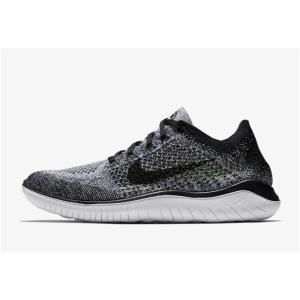 ナイキ Nike フリーラン フライニット18SU メンズランニングシューズ 942838-101 (ホワイト/ブラック)|om-sports