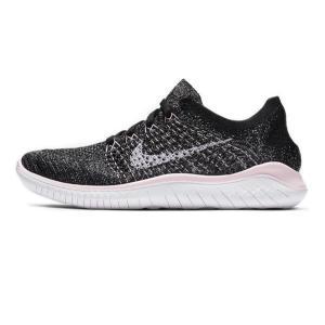 ナイキ Nike レディース フリーラン フライニット2018 レディースランニングシューズ 942839−007 (ブラック/ピンクフォーム/ホワイト)|om-sports