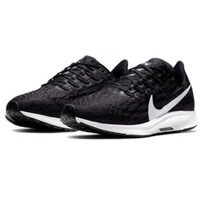 ナイキ Nike レディース エアズーム ペガサス36 4E NEW レディースランニングシューズ AQ2209-004 (ブラック/サンダーグレー/ホワイト)|om-sports
