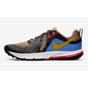 ナイキ Nike エア ズーム ワイルドホース 5 NEW ランニングシューズ AQ2222-200(ビーチツリー/オフノワール/パシフィックブルー/ユニバーシティゴールド)|om-sports