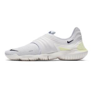 ナイキ Nike フリーラン フライニット3.0 NEW ランニングシューズ AQ5707-004 (ピュアプラチナム/ルミナスグリーン/ブラック)|om-sports