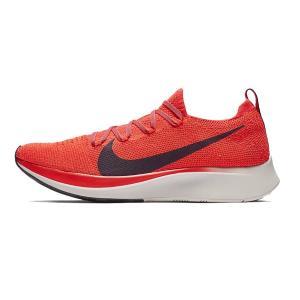 ナイキ Nike ズームフライ フライニット NEW メンズランニングシューズ AR4561-600 (ブライトクリムゾン/トータルクリムゾン/ユニバーシティレッド/ブラック)|om-sports