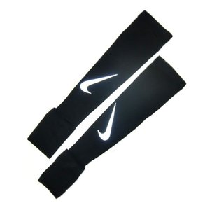 ナイキ Nike ナイキ ラン ミッドウェイト スリーブ アームカバー RN5029-042 (ブラック/シルバー) om-sports