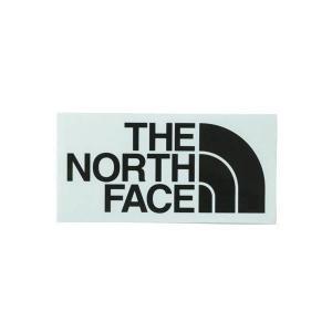 ザ・ノースフェイス THE NORTH FACE TNF CUTTING STICKE カッティングステッカー アウトドアアクセサリー NN32013-K(ブラック)|om-sports