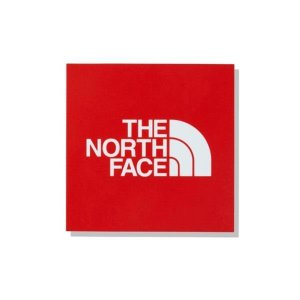 ザ・ノースフェイス THE NORTH FACE TNF スクエアロゴステッカー ミニ アウトドアアクセサリー NN32015-R(レッド)|om-sports