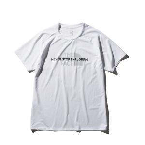 ザ・ノースフェイス THE NORTH FACE ショートスリーブアンペアクルー ランニングTシャツ NT12083-W(ホワイト)|om-sports