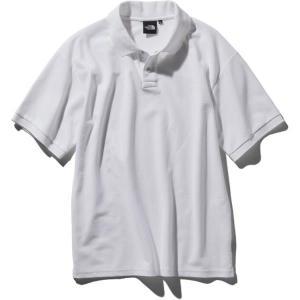 ザ・ノースフェイス THE NORTH FACE ショートスリーブカジュアルポロ(メンズ)  メンズ ポロシャツ NT21951-W (ホワイト) om-sports