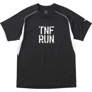 ザ・ノースフェイス THE NORTH FACE ショートスリーブTNFRロゴクルー(メンズ) Tシャツ NT81875-K (ブラック) om-sports