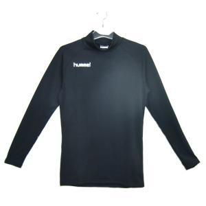 ヒュンメル あったか インナー長袖シャツ シャツ HAP5143-90 (ブラック)|om-sports