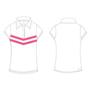 ヒュンメル レディースポロシャツ 16SS レディースウエア HLY3007-10 (ホワイト)|om-sports