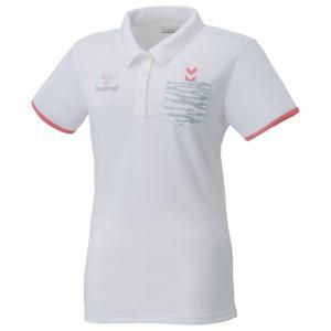 ヒュンメル レディース ポロシャツ 17SS ポロシャツ HLY3008-10 (ホワイト)|om-sports