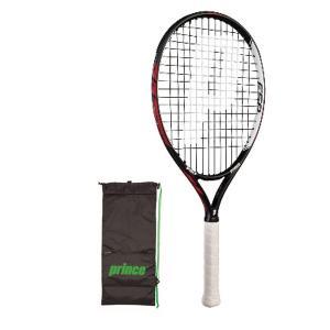 プリンス ハリアー 25 イーエスピー(ジュニア) 硬式テニスラケット 7T36ZJ (レッド/ブラック)|om-sports