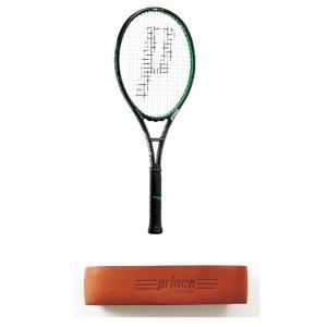 プリンス ツアーグラファイト100エックスアール 硬式テニスラケット 7TJ017 (ブラック/グリーン)|om-sports