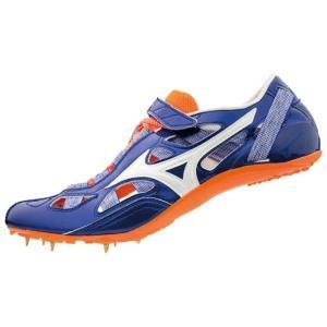 ミズノ MIZUNO クロノインクス9(陸上競技)(ユニセックス) NEW 陸上スパイク U1GA1901-01 (ブルー×ホワイト×オレンジ)|om-sports