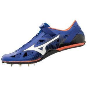 ミズノ MIZUNO ジオスプリント4(陸上競技)(ユニセックス)NEW 陸上スパイク U1GA1910-01 (ブルー×ホワイト×オレンジ) om-sports