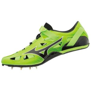 ミズノ MIZUNO ジオスプリント4(陸上競技)(ユニセックス)NEW 陸上スパイク U1GA1910-09 (グリーン×ブラック)|om-sports