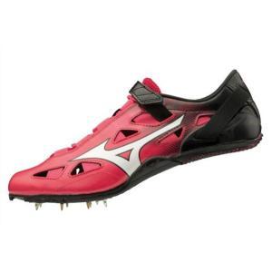 ミズノ MIZUNO ジオスプリント4(ユニセックス)NEW 陸上スパイク U1GA2010-60(ピンク×ホワイト×ブラック)|om-sports