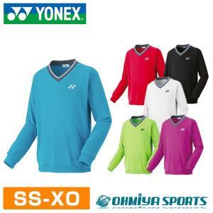 ヨネックス ユニセックス トレーナー 18FW メンズウエア 32026 (6色)|om-sports