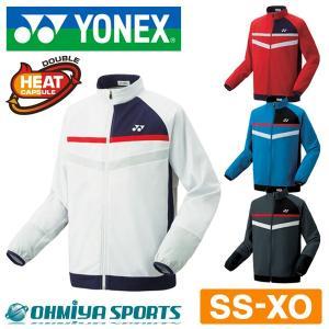 ヨネックス YONEX テニスウェア メンズ レディース 長袖 秋冬 あったかい 暖かい ウェア 裏地付ウインドウォーマーシャツ  70062 (4色)|om-sports
