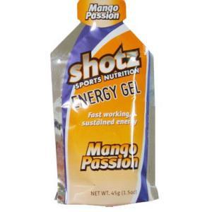 ショッツジャパン 健康ケアサプリメント shotzエナジージェル カーボショッツ マンゴーパッション味 45g S-106 S106|om-sports
