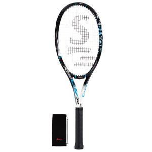 スリクソン レヴォ CV 5.0 硬式テニスラケット SR21603 (ブラック×イエローブルー) om-sports