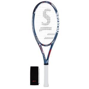 スリクソン レヴォ CS 8.0 硬式テニスラケット SR21607 (ブルー) om-sports