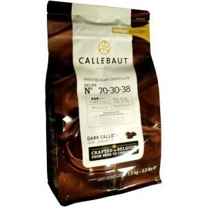 カレボー チョコレート カカオ70% 70-30-38 1.5kg チョコチップ クーベルチュール 業務用 みのや|omamesan