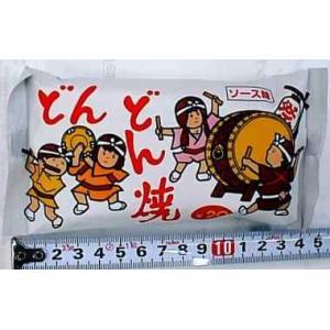 【駄菓子】問屋価格で卸ます。 ■どんどん焼(20円X15コ)菓道  子供たちに人気のスナック菓子。ソ...