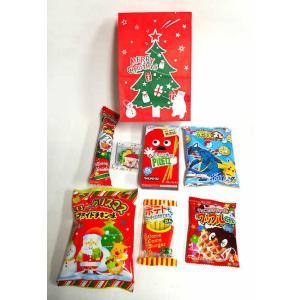 駄菓子 詰め合わせ クリスマス ツリー袋 税抜100円 お菓子詰め合わせ・安い・大量