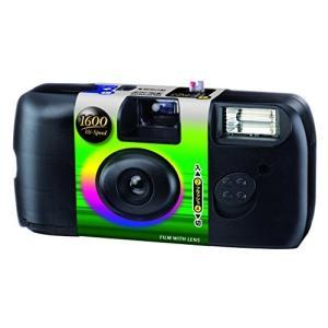 (中古品) FUJIFILM レンズ付フイルム フジカラー 写ルンです 1600 Hi-Speed ...