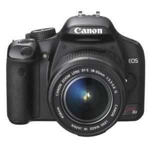 Canon デジタル一眼レフカメラ EOS Kiss X2 レンズキット KISSX2-LKIT|omatsurilife