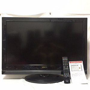 (中古品) 日立 32V型地上・BS・110度CSデジタルハイビジョン液晶テレビ(250GB HDD...