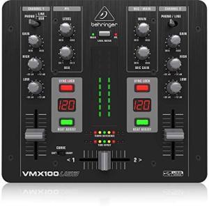 ベリンガー DJミキサー 2ch USB/オーディオインターフェース VMX100USB