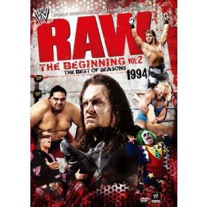 (中古品) WWE RAW ザ・ビギニング Vol.2 1994 [DVD]  【メーカー名】 東宝...