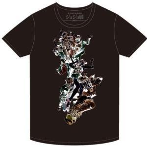 (中古品) ジョジョの奇妙な冒険 ジョジョ展 2012年  限定Tシャツ 25周年記念イラスト ジョ...