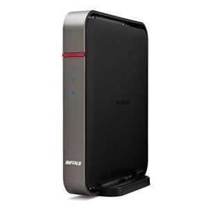 (中古品) BUFFALO 11ac(Draft) 1300プラス450Mbps 無線LAN親機 W...